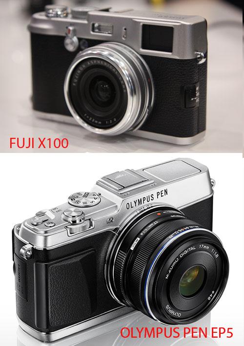 Bentuk Olympus PEN EP5 Mirip Fuji X100 1