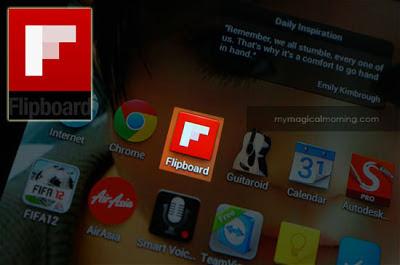Teruja dengan Aplikasi Flipboard 1