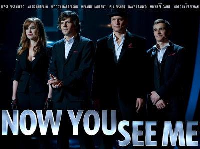 Now You See Me - Movie yang membuat aku teruja 1