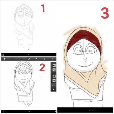 Doodle Menggunakan Autodesk SketchBook Pro 2