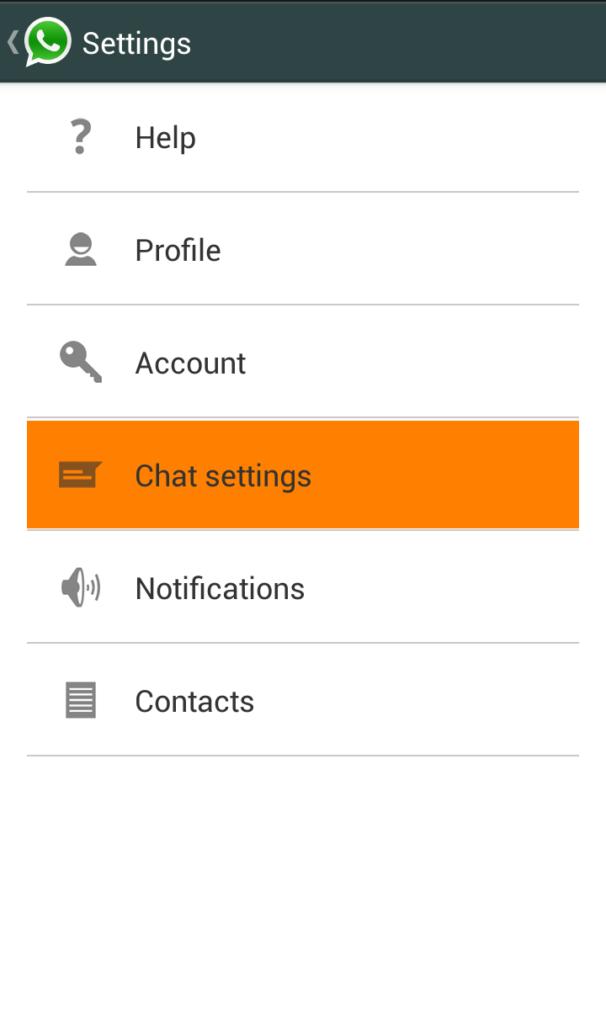 Cara elak gambar di simpan dalam Whatsapp 1