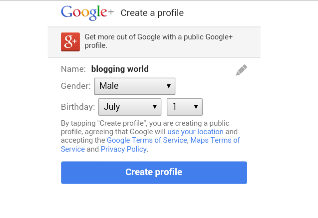 Langkah Pertama dan cara mudah Buat Blog 3