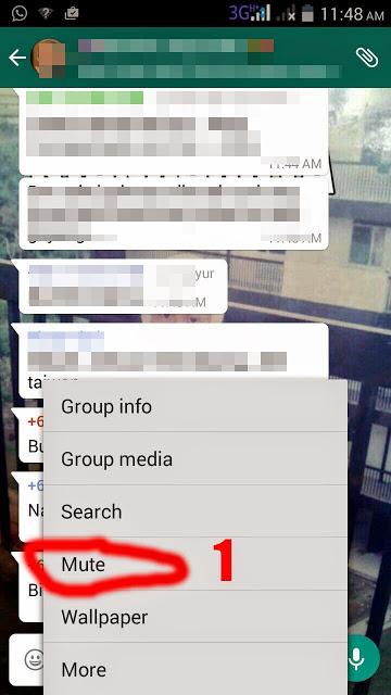 Cara Keluar Dari Group Whatsapp 1