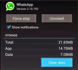 Daftar Nombor Baru Untuk Whatsapp tanpa Uninstall 1