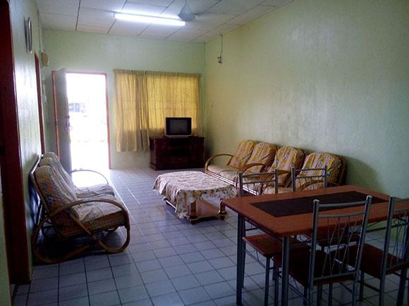Ruang tamu homestay