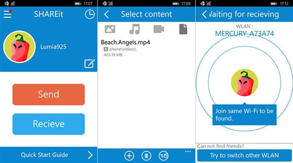Cara Transfer File dari PC ke Android / Iphone dengan Pantas 1
