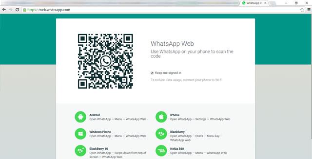 keluar whatsapp dari komputer
