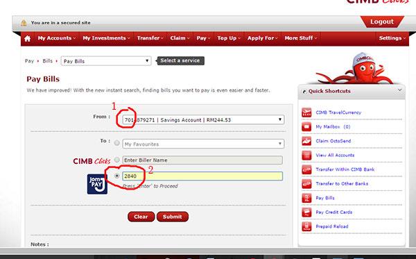 Cara Bayar Cukai Taksiran Online 2