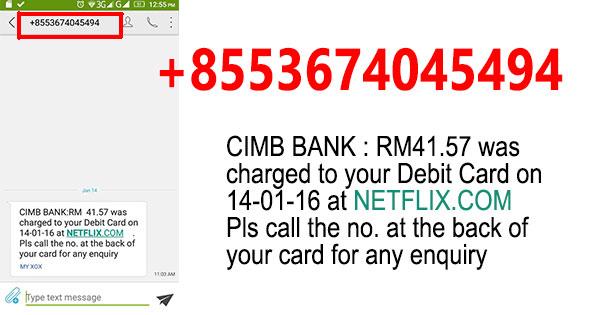 Duit di Bank Dicuri Untuk Bayar Netflix.com 1