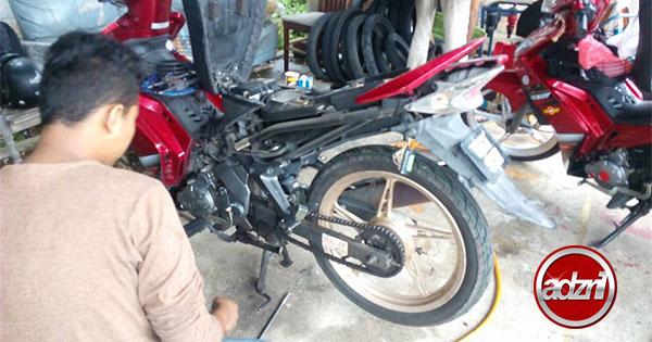 Tukar Mono Yamaha 135 LC Terus Jadi Keras Macam Kancil Potong Spring 1