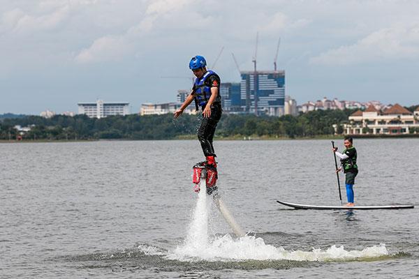 Flyboarding putrajaya