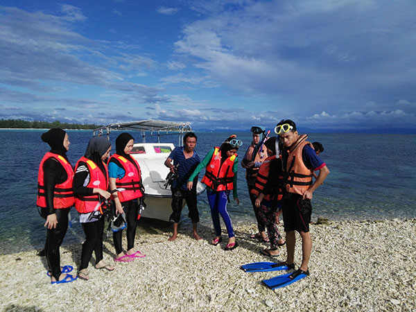 pakej aktiviti snorkel