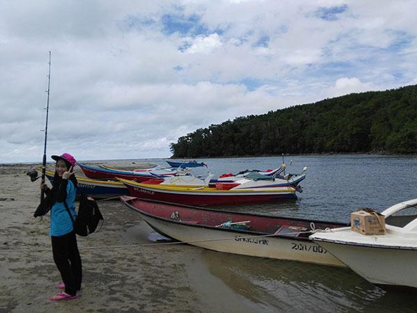 pakej aktiviti pancing di sabah pulau
