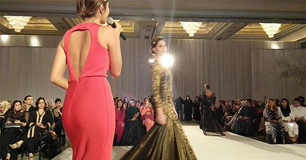 Rekaan Baju Kahwin Fatimah Mohsin di Kuala Lumpur Malaysia 1