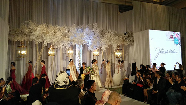Rekaan Baju Kahwin Fatimah Mohsin di Kuala Lumpur Malaysia 2