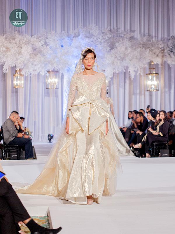 Rekaan Baju Kahwin Fatimah Mohsin di Kuala Lumpur Malaysia 6