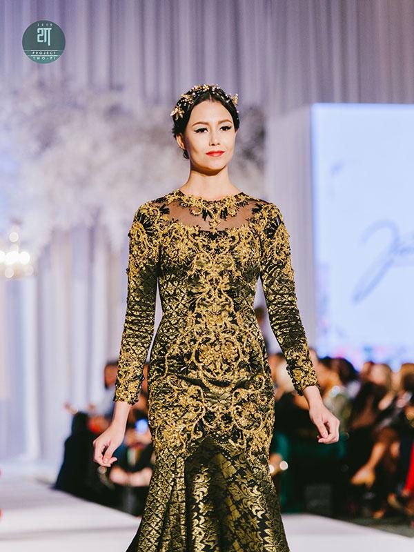 Rekaan Baju Kahwin Fatimah Mohsin di Kuala Lumpur Malaysia 17
