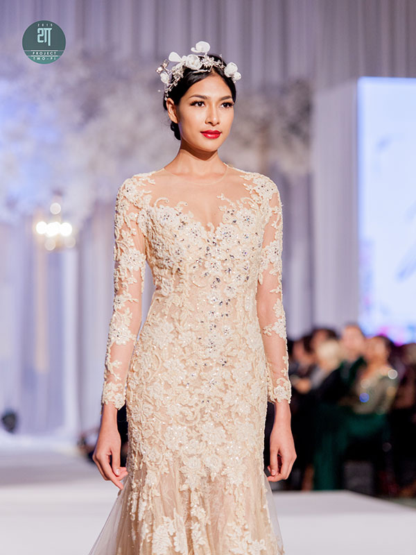 Rekaan Baju Kahwin Fatimah Mohsin di Kuala Lumpur Malaysia 9