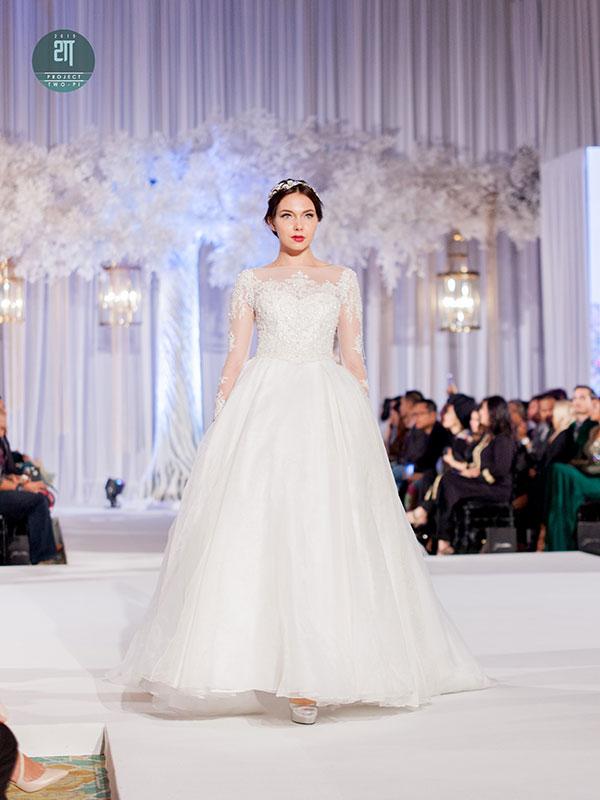 Rekaan Baju Kahwin Fatimah Mohsin di Kuala Lumpur Malaysia 10
