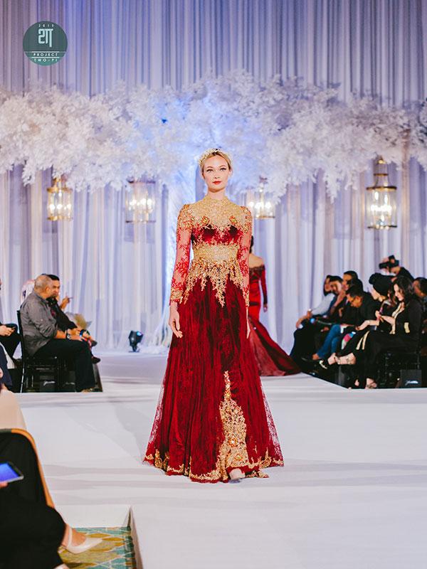 Rekaan Baju Kahwin Fatimah Mohsin di Kuala Lumpur Malaysia 14