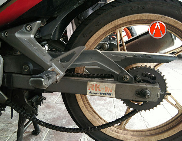 Rantai Motor Yamaha LC 135 Tak Kendur Lebih dari 4 Bulan 2